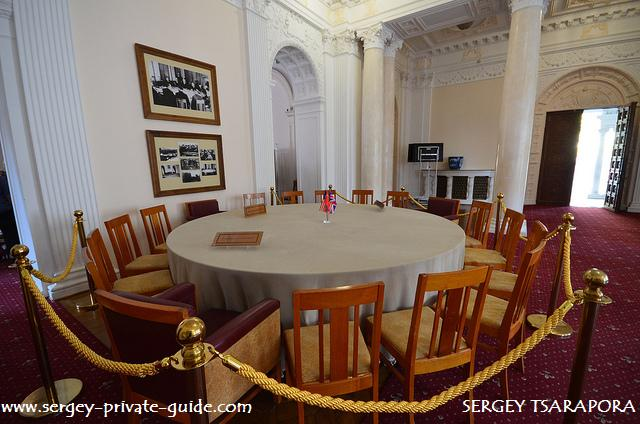 Livadia Big Three Meeting Table